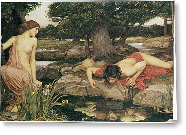 1 echo and narcissus john william waterhouse