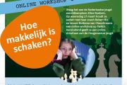 Online workshop en simultaan jeugdwereldkampioene Elin...